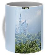 Snow White's Palace In Morning Mist Coffee Mug