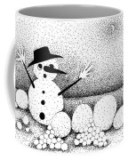 Snowball Fight Coffee Mug