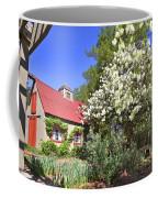 Snowball Tree In The Garden Coffee Mug