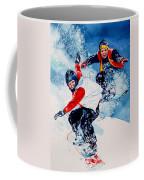 Snowboard Psyched Coffee Mug