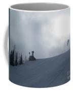 Snowboard Slopestyle Competiton Coffee Mug
