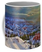 Snowbow During Winter Sunrise Bryce Canyon National Park Utah Coffee Mug