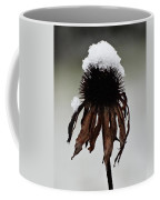 Snowcapped Coneflower Coffee Mug
