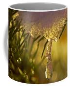 Snowdrop Crystal Coffee Mug by Sharon Talson