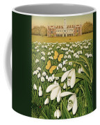 Snowdrop Day, Hatfield House Coffee Mug