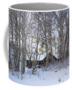 Snowed Cabin Coffee Mug