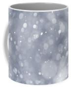 Snowfall Background Coffee Mug