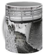 Snowfall Bridge Coffee Mug