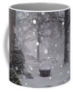 Snowfall On Ayers Coffee Mug