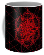 Snowflake Shape Comes From Frequency And Mass Coffee Mug by Jason Padgett
