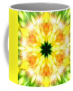 Snowflake Sunburst Coffee Mug