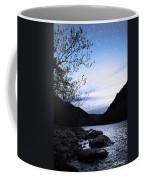 Snowflakes On The River Coffee Mug