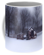 Snowing At Narcissa Road Springhouse Coffee Mug