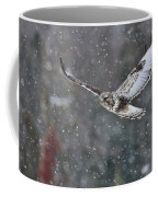 Snowing Flight Coffee Mug