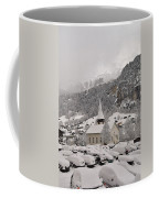 Snowing In The Valley Coffee Mug