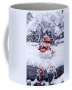 Snowman Coffee Mug by Joana Kruse