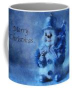 Snowman Merry Christmas Photo Art 01 Coffee Mug