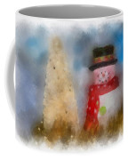 Snowman Photo Art 13 Coffee Mug