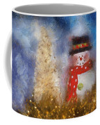 Snowman Photo Art 14 Coffee Mug