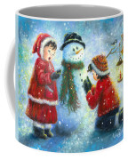 Snowman Song Coffee Mug