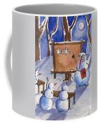 Snowman University Coffee Mug