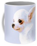 Snowman - White Chihuahua Coffee Mug