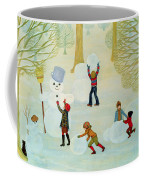 Snowmen Coffee Mug by Ditz