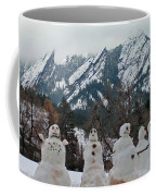 Flatiron Snowmen. Coffee Mug