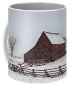 Snowstorm At The Ranch Coffee Mug