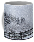 Snowstorm Coming Coffee Mug by Beverly Guilliams