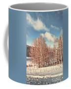 Snowy Aspens  Coffee Mug
