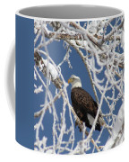 Snowy Bald Eagle Coffee Mug