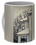 Snowy Brick House Coffee Mug