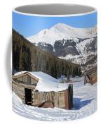 Snowy Cabins Coffee Mug