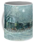Snowy Carriages Coffee Mug