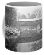 Snowy Crossing Coffee Mug by Luke Moore