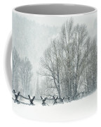 Snowy Day In The Tetons Coffee Mug