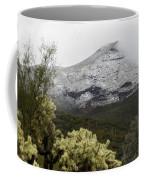 Snowy Desert Mountain 1 Coffee Mug