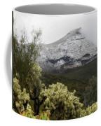 Snowy Desert Mountain Coffee Mug
