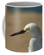 Snowy Egret Profile Coffee Mug