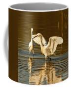 Snowy Egret Wingspan Coffee Mug