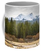Snowy Fall In Yosemite Coffee Mug