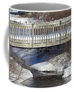 Snowy Foot Bridge Coffee Mug