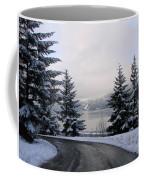 Snowy Gorge Coffee Mug