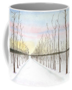 Snowy Lane Coffee Mug