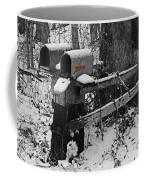 Snowy Mailbox Sc Coffee Mug