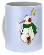 Snowy Man Coffee Mug