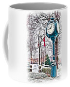 Snowy Morning - Oil Coffee Mug
