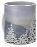 Snowy Mountains Of Nek Coffee Mug