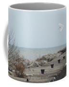 Snowy Owl On The Move Coffee Mug